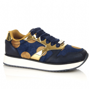 Ruby Shoo Suzie Navy Trainers / Shoes